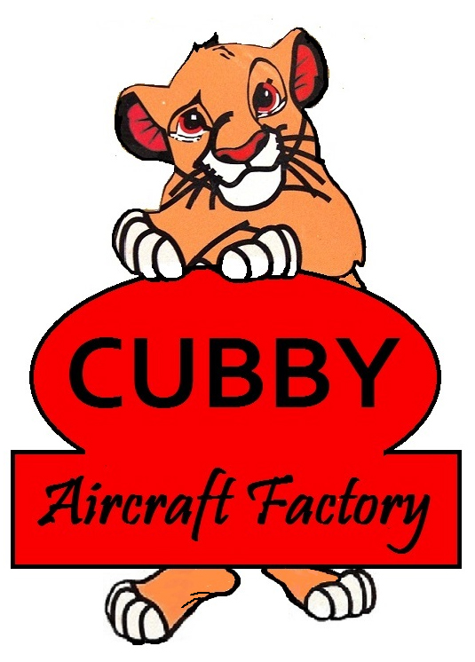 Cubby Aircraft Factory Logo